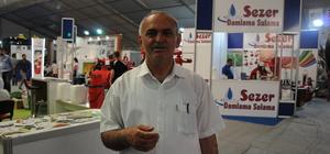 Mardin'de düzenlenen tarım fuarına ziyaretçi ilgisi