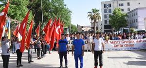 """Nusaybin'de """"gençlik yürüyüşü"""" etkinliği"""