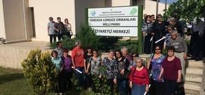 Türk ve Bulgar kafileden Longoz Ormanları Milli Parkına ziyaret