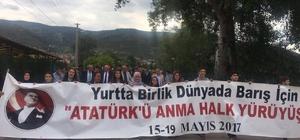 Osmaneli'de gençlik yürüyüşü