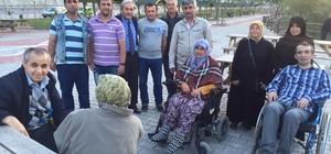 Başkan Şahin engelli vatandaşlarla bir araya geldi