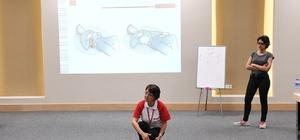 Konyaaltı'nda personeli ilkyardım eğitimi