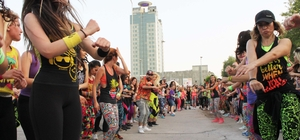 Adana'da heyecan ve eğlence birarada yaşandı