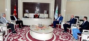 Karadağ Diyanet İşleri Başkanı'ndan Başkan Toru'ya ziyaret