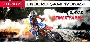 Kemer'de Enduro heyecanı