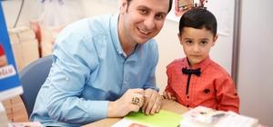 Şehitkamilli Minik Yazar Salman Tapan, ilk kitabını çıkardı