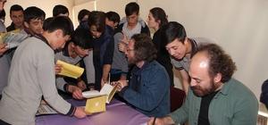 Erzurumlu gençler yazarlarla buluşuyor