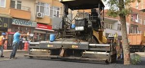Bağlar ilçesinde asfalt çalışmaları sürüyor