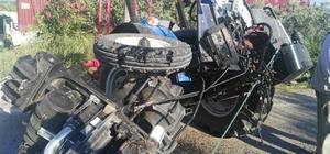 Bozdoğan'da trafik kazası; 2 yaralı