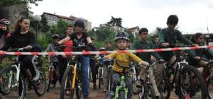 En yavaş ve sonuncu olan bisikleti kazandı