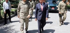 Kara Kuvvetleri Komutanı Çolak, Burdur'da