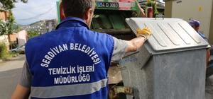Serdivan'da çöpler her gün toplanacak