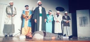 Cami imamları ve öğretmenlerden tiyatro gösterisi