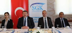 """SGK İl Müdürü Fidan """"Milli Seferberlik Programı"""" sonuçlarını açıkladı:"""