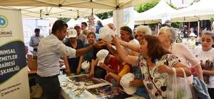 Tekirdağ Büyükşehir Belediyesi `Yerel Tohumları Yaşatıyoruz' etkinliğine katıldı