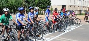 Siverek'te bisiklet yarışması düzenlendi