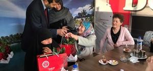 Başkan Işık'tan şehit ve gazi annelerine ziyaret