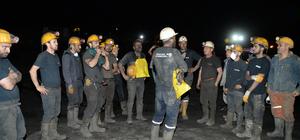 Antalya'da maden ocağında gaz sıkışması