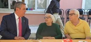 Başkan Kayalı'dan Huzurevi ile Şehit Aileleri ve Gaziler Derneğine ziyaret