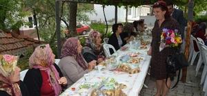Kaşıkçı Mahallesinin kadınları kahvaltıda buluştu