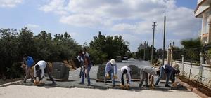 Yeşilbayır ve Düzlerçamı Mahallelerine kilit taşı döşeniyor