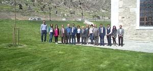 UNESCO temsilcileri Sivrihisar'ın kayalarını incelemeye geldi