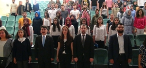 Harran Üniversitesi Yabancı Diller Yüksekokulunda 25'inci yıl temalı yıl sonu etkinliği
