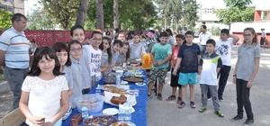 Kadirli'de yardıma muhtaç öğrenciler için kermes