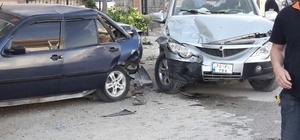 Karaman'da kamyonetin çarptığı yaya ağır yaralandı