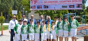 İncirliova Belediyesi şampiyonları ağırladı