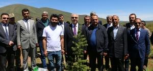 """Bingöl'de """"15 Temmuz Demokrasi Şehitleri Ormanı"""""""
