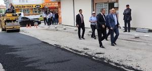 Başkan Saygılı'dan asfalt çalışmalarına inceleme