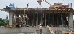 Muratlı Cemevi inşaatı devam ediyor