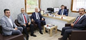 Balıkesir Vergi Dairesi Başkanı'ndan ETO'ya ziyaret