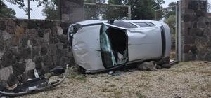 Çanakkale'de trafik kazası; 1 yaralı