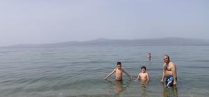 Mudanyalılar deniz sezonunu açtı