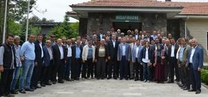 Pancar çiftçilerinden Kayseri Şeker'e destek ziyareti