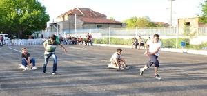 KSÜ'lü öğrenmcilerden 'Bilye Formula' yarışı
