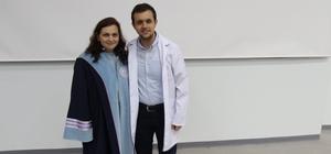 BEÜ Eczacılık Fakültesi öğrencileri beyaz önlüklerini giydi