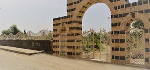 Cizre Belediyesi mezarlığa yeni bir görünüm kazandırdı