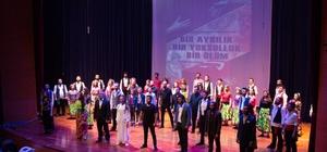 Tiyatro ve dans gösterisinde Sakaryadaki Roman kültürü konu alındı