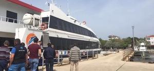 Ekinlik adasında deniz otobüsü seferleri başlıyor