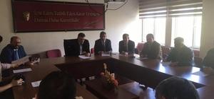 Zeytin Hastalıkları ile Mücadele Birliği'nde başkan Aksoy
