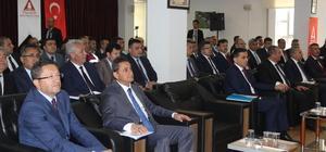 """Ankara'da """"mobilyacıların güvenlik sorunları"""" toplantısı düzenlendi"""