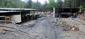 Kemer'de maden ocağındaki metan gazı sıkışması