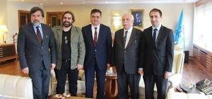 Başkan Yalçın, Kültür ve Turizm Bakanı Avcı'yı ziyaret etti