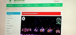 Yozgat Belediyesi Web Tv hayata geçti