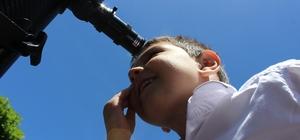Anasınıfı öğrencileri için astronomi etkinliği düzenlendi