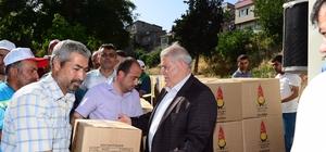 Onilişubat Belediyesi'nden Mardinli öğrencilere yardım