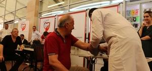 Bornova'da vatandaşların kalp yaşları hesaplandı